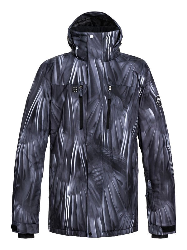 0 Mission - Snow Jacket for Men Black EQYTJ03186 Quiksilver