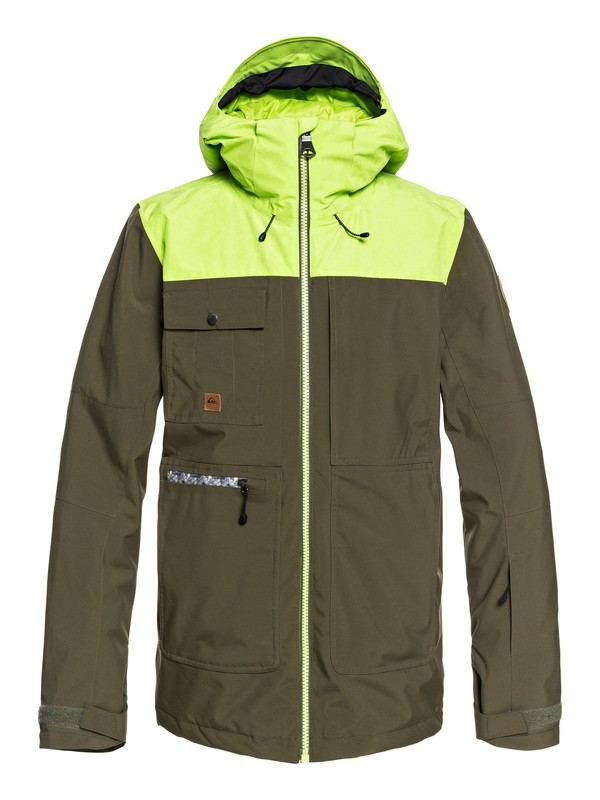 0 Arrow Wood - Veste de snow pour Homme Marron EQYTJ03191 Quiksilver