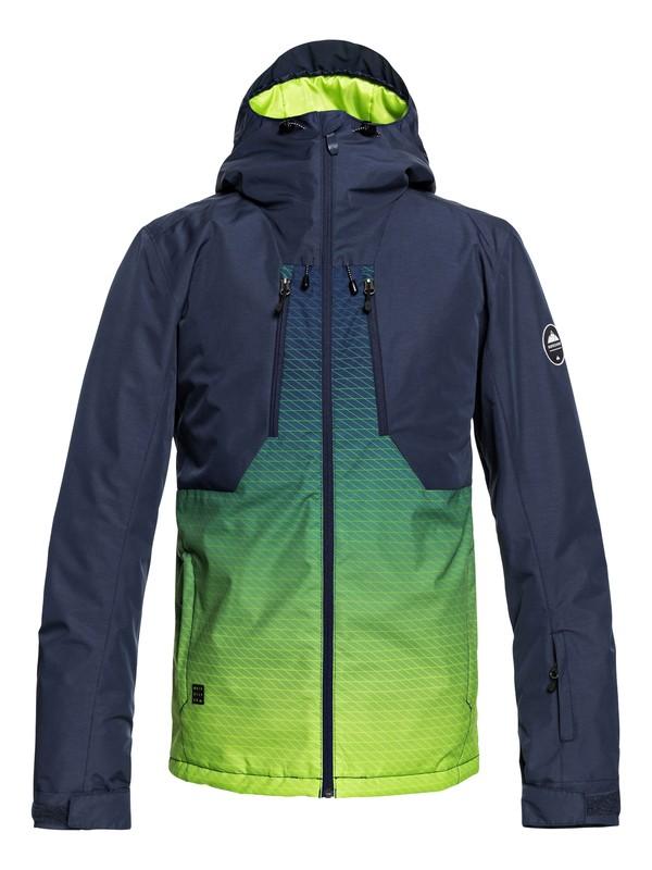 0 Сноубордическая куртка Mission Plus Зеленый EQYTJ03192 Quiksilver