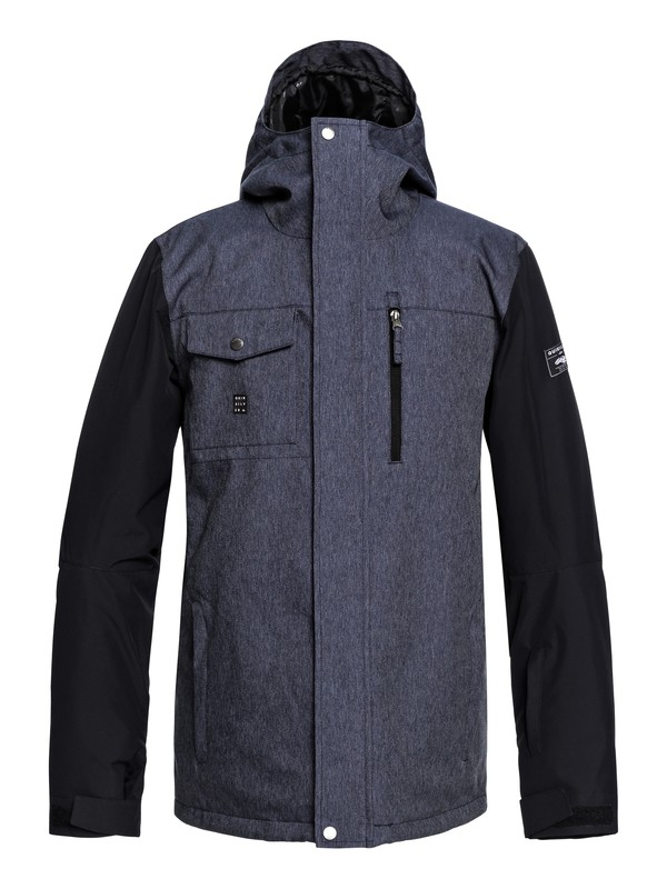 0 Mission - Snow Jacket for Men Blue EQYTJ03193 Quiksilver