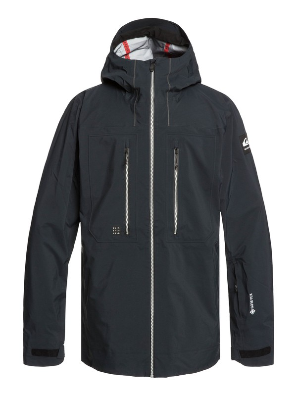 0 Mamatus 3L GORE-TEX® - Snow Jacket Black EQYTJ03206 Quiksilver