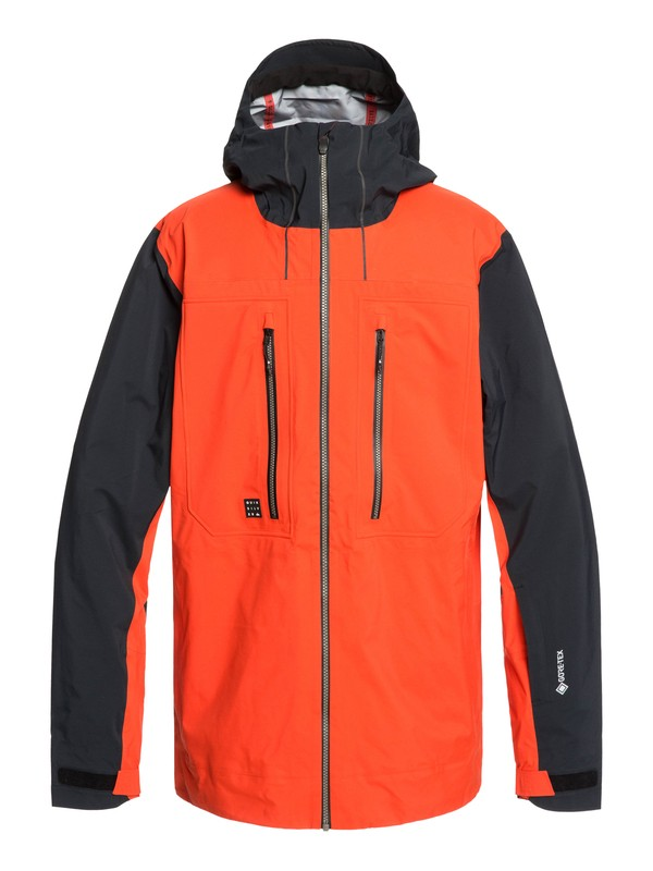 0 Mamatus 3L GORE-TEX® - Snow Jacket Orange EQYTJ03206 Quiksilver