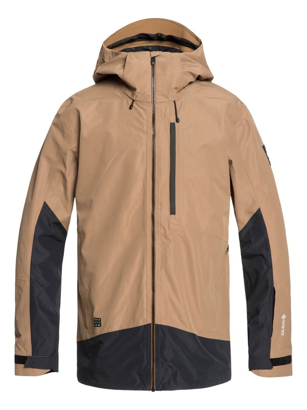 0 Forever 2L GORE-TEX® - Snow Jacket Brown EQYTJ03208 Quiksilver