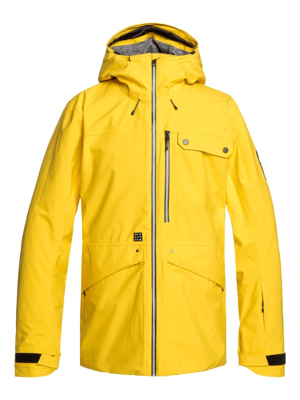 0 Snow SpinDye® - Snow Jacket Green EQYTJ03211 Quiksilver