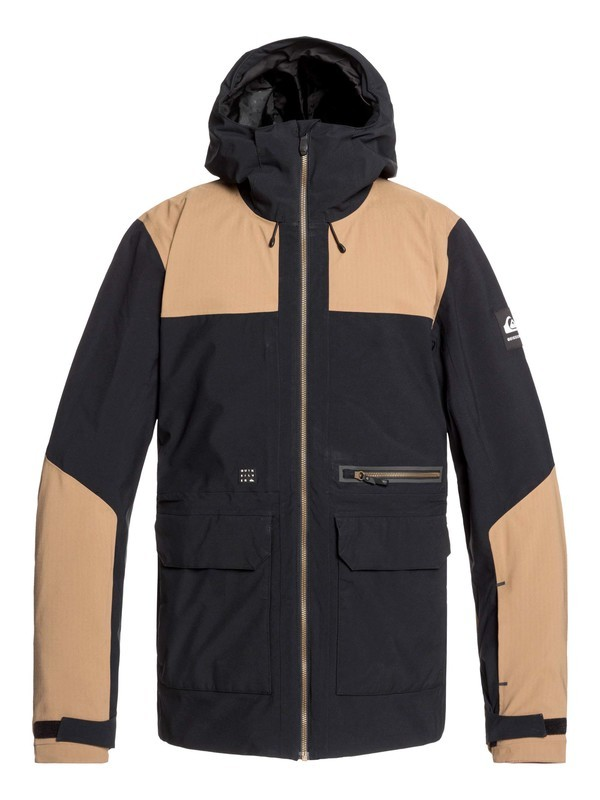 0 Arrow Wood Snow Jacket Black EQYTJ03212 Quiksilver