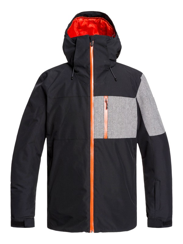 0 Mission Plus Snow Jacket Black EQYTJ03215 Quiksilver