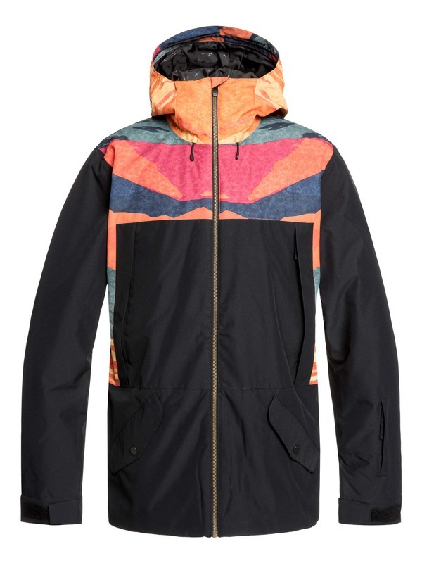0 Travis Rice Ambition Snow Jacket Orange EQYTJ03216 Quiksilver