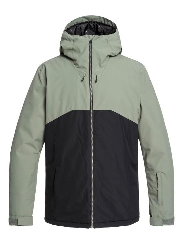 0 Sierra Snow Jacket Green EQYTJ03218 Quiksilver