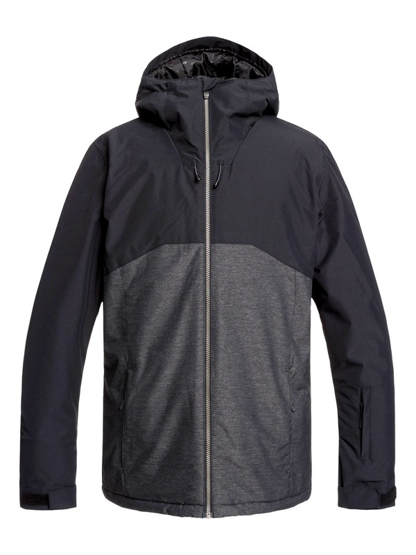 0 Sierra Snow Jacket Black EQYTJ03218 Quiksilver