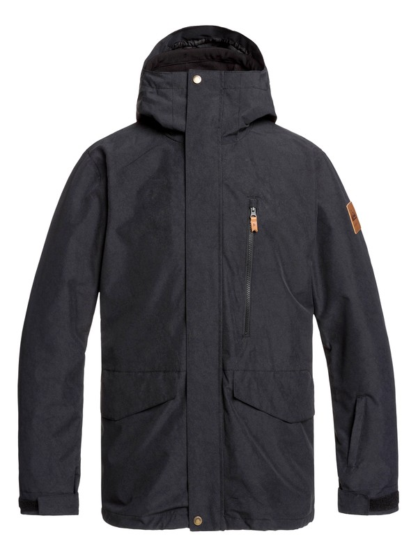 0 Mission 3-in-1 Snow Jacket Black EQYTJ03219 Quiksilver