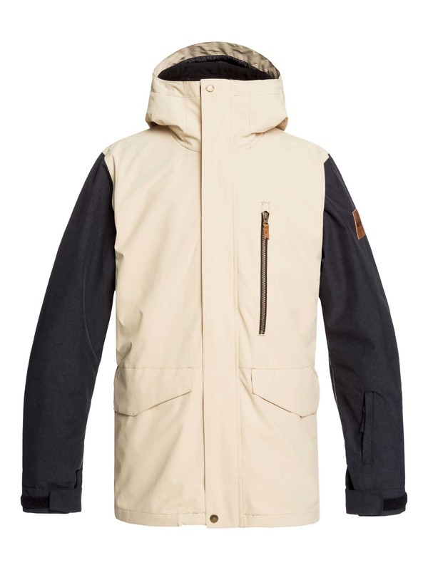 0 Mission 3-in-1 Snow Jacket Beige EQYTJ03219 Quiksilver