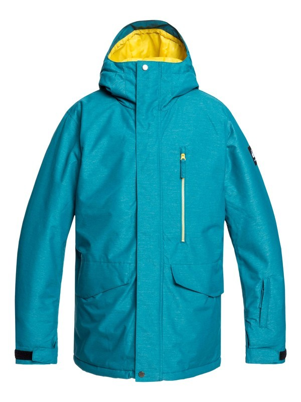 0 Mission Snow Jacket Blue EQYTJ03221 Quiksilver
