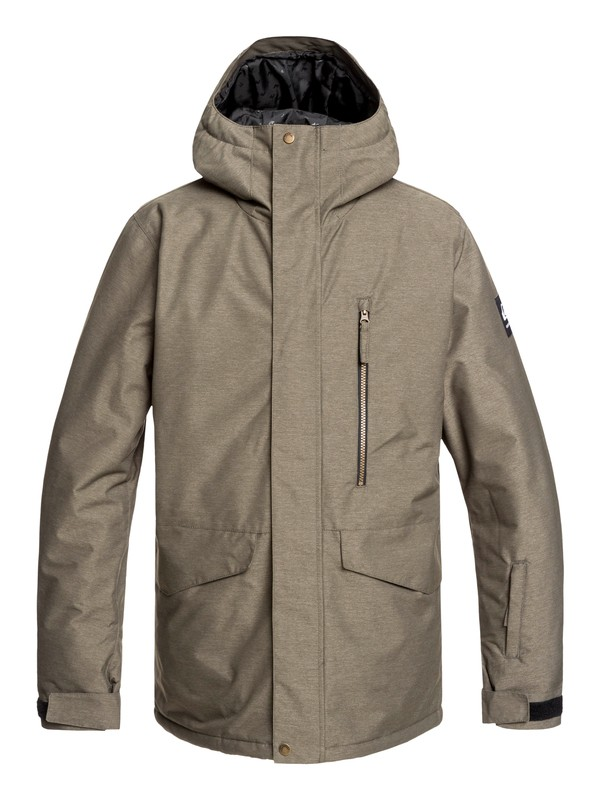 0 Mission Snow Jacket Brown EQYTJ03221 Quiksilver