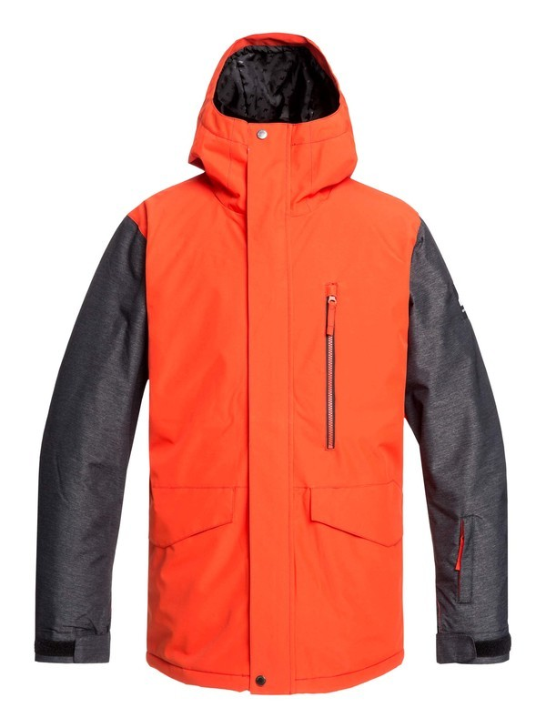 0 Mission Snow Jacket Orange EQYTJ03221 Quiksilver