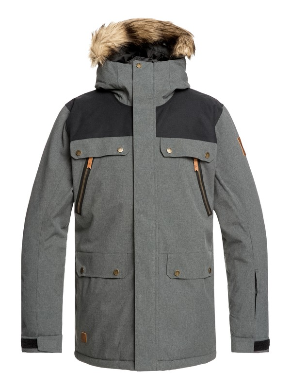 0 Selector Snow Jacket Black EQYTJ03226 Quiksilver