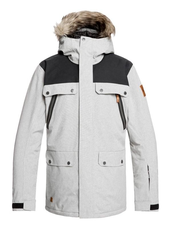 0 Selector Snow Jacket Grey EQYTJ03226 Quiksilver