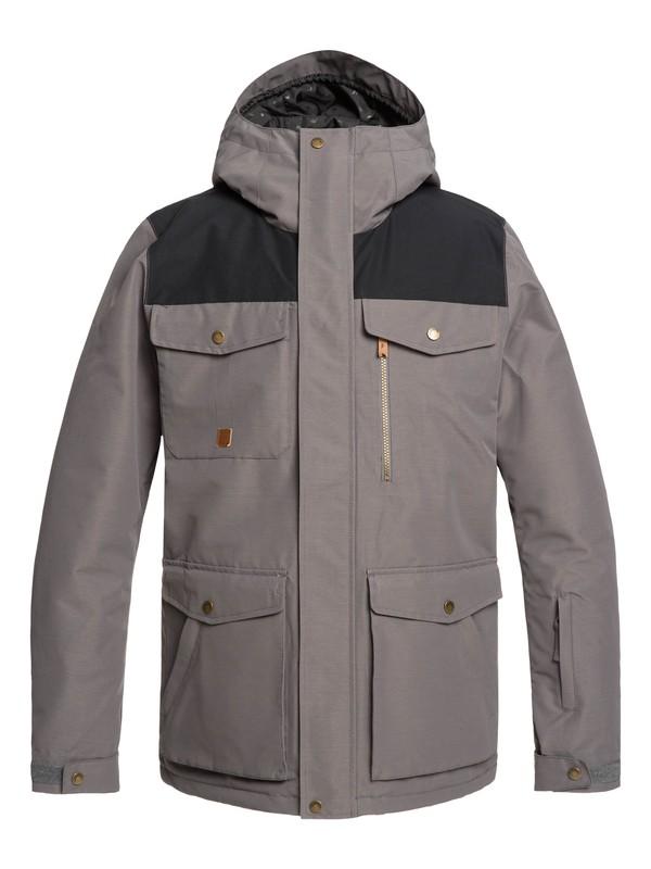 0 Raft Snow Jacket Black EQYTJ03227 Quiksilver