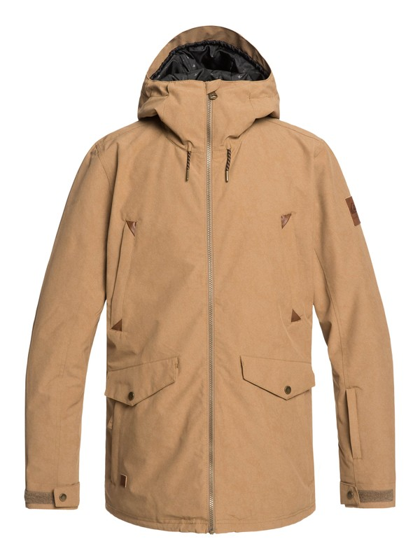 0 Drift Snow Jacket Brown EQYTJ03228 Quiksilver