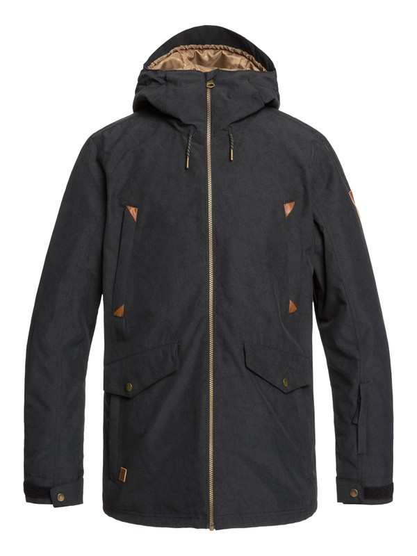 0 Drift Snow Jacket Black EQYTJ03228 Quiksilver