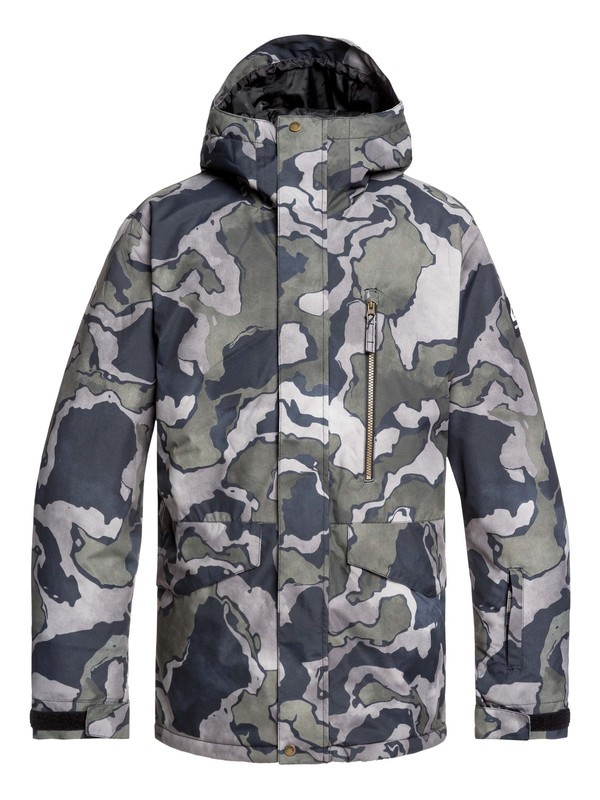 0 Mission Snow Jacket Black EQYTJ03230 Quiksilver