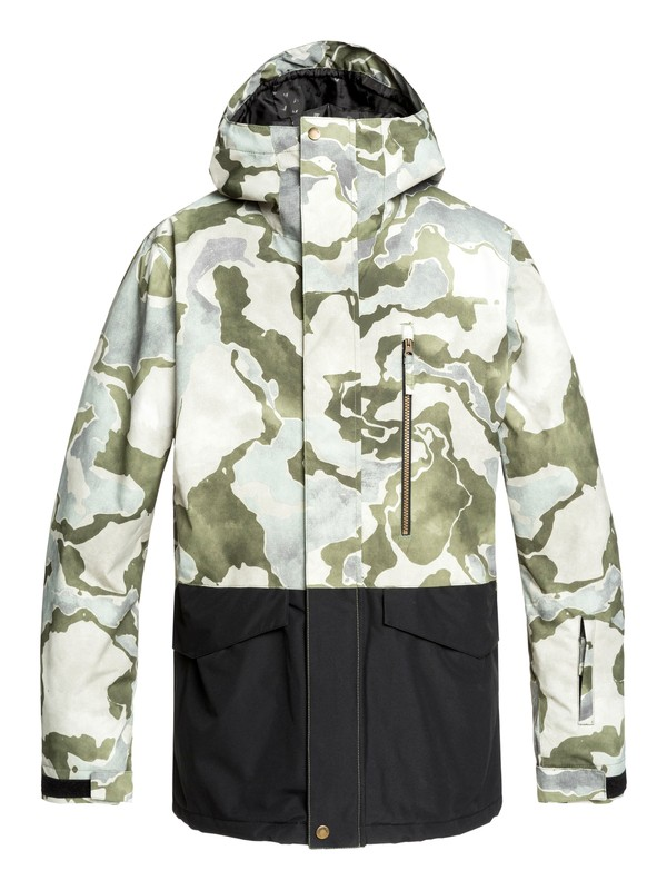 0 Mission Snow Jacket Brown EQYTJ03237 Quiksilver