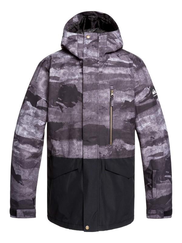 0 Mission Snow Jacket Black EQYTJ03237 Quiksilver