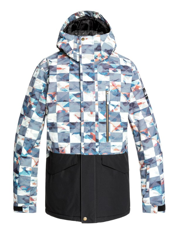 0 Mission Snow Jacket Red EQYTJ03237 Quiksilver