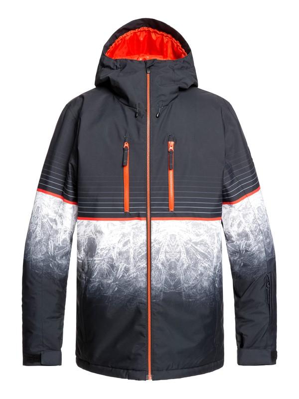 0 Silvertip Snow Jacket Black EQYTJ03239 Quiksilver