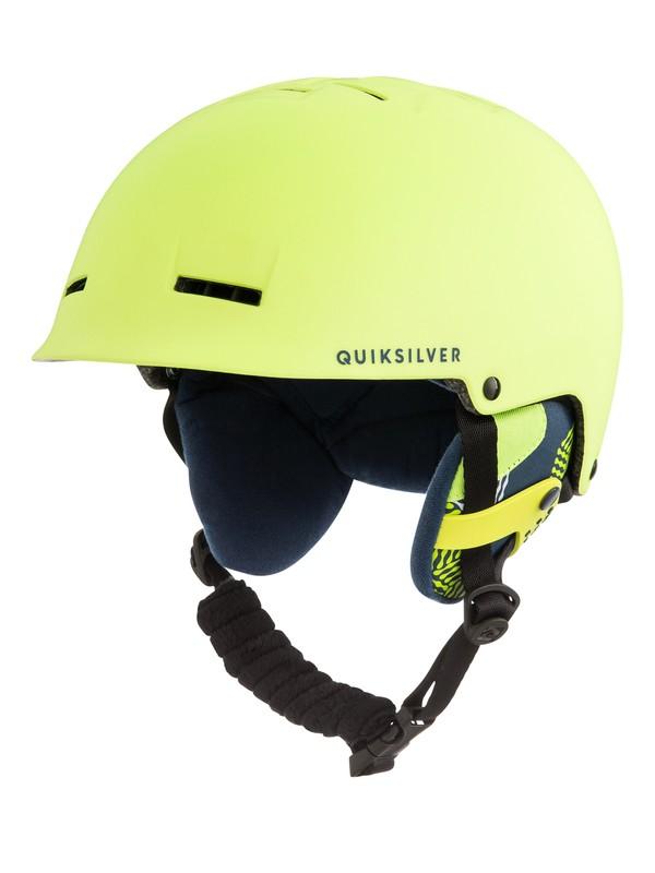 0 Fusion - Casque de snowboard/ski Vert EQYTL03029 Quiksilver