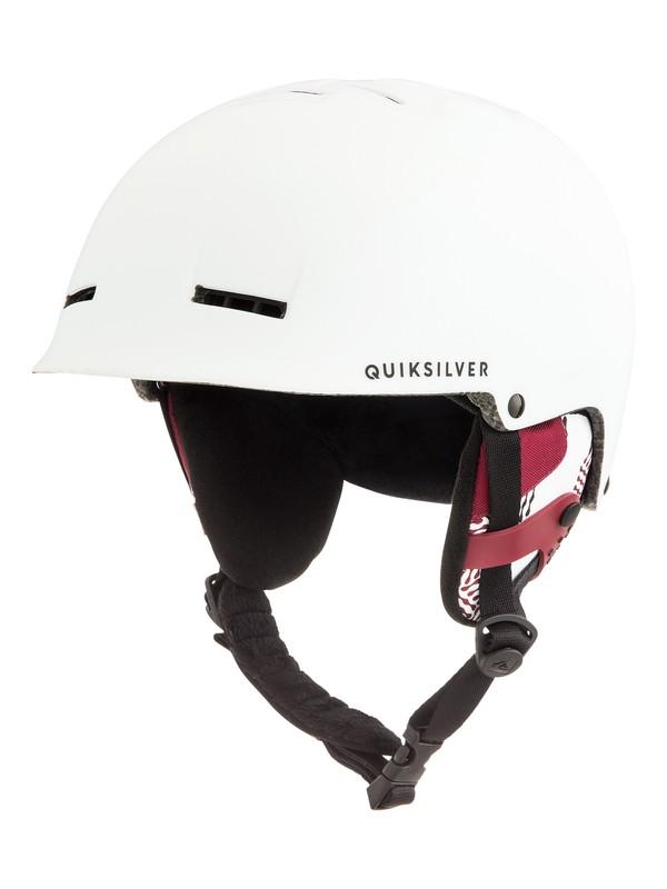 0 Сноубордический шлем Fusion Белый EQYTL03029 Quiksilver