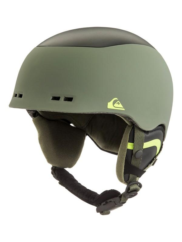 0 Lennix - Snowboard/Ski Helmet Brown EQYTL03032 Quiksilver