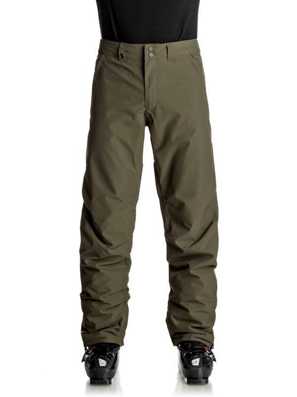 0 Сноубордические штаны Estate Коричневый EQYTP03064 Quiksilver