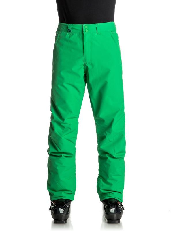 0 Сноубордические штаны Estate Зеленый EQYTP03064 Quiksilver