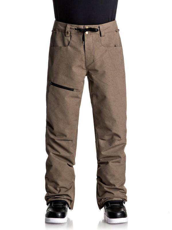 0 Forest Oak Snow Pants  EQYTP03067 Quiksilver