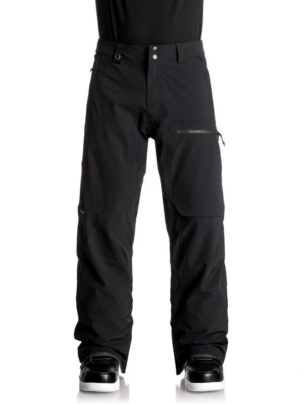 0 TR Stretch Snow Pants Black EQYTP03069 Quiksilver