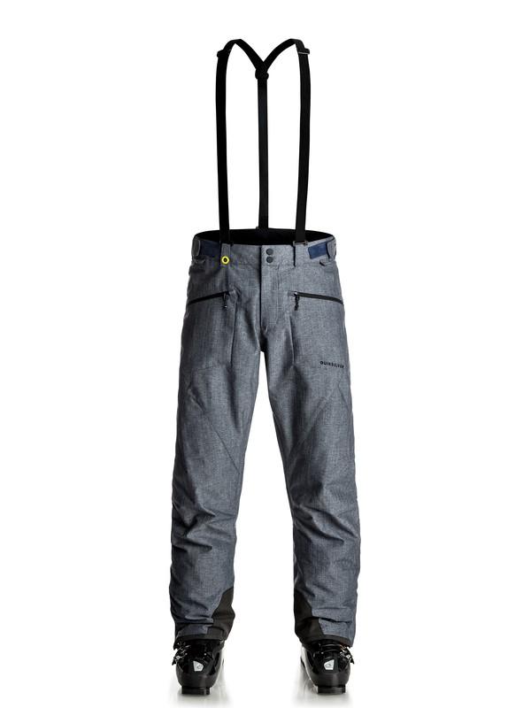 0 Сноубордические штаны Boundry Plus Синий EQYTP03077 Quiksilver