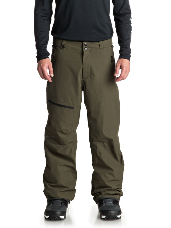 0 Forever 2L GORE-TEX® Snow Pants Brown EQYTP03080 Quiksilver