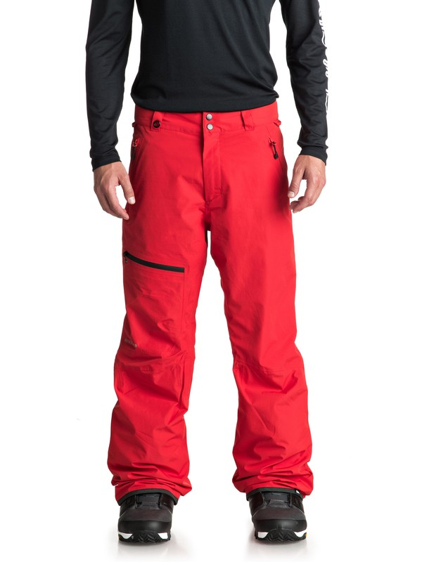 0 Forever 2L GORE-TEX® Snow Pants Red EQYTP03080 Quiksilver