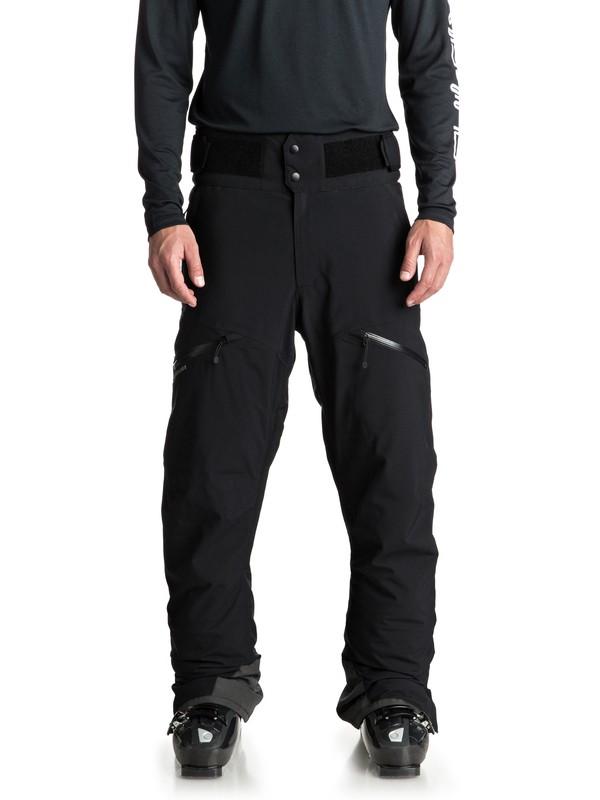 0 Сноубордические штаны Orbitor Черный EQYTP03083 Quiksilver