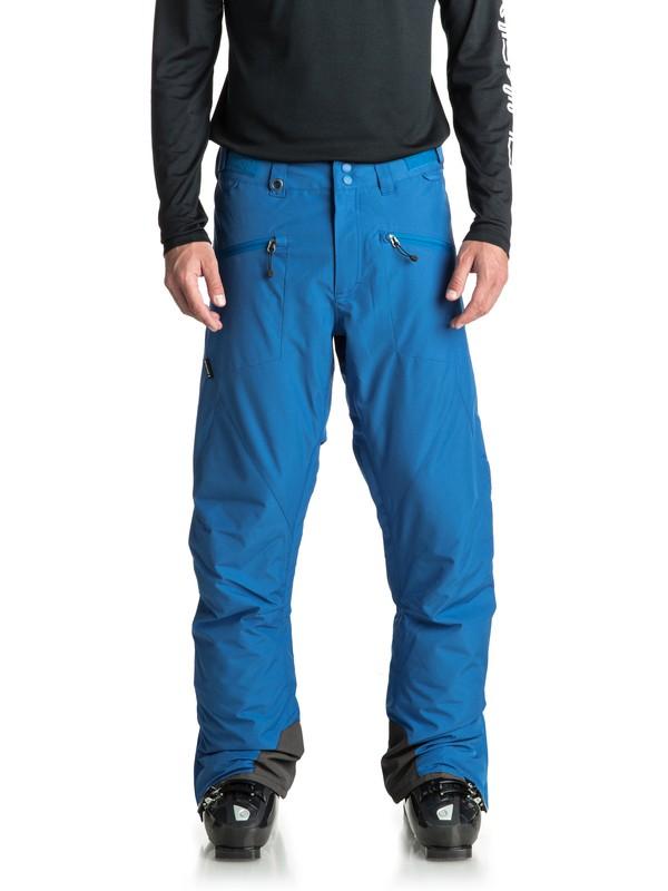 0 Boundry - Pantaloni da snowboard da Uomo Blue EQYTP03086 Quiksilver