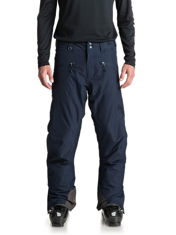 0 Сноубордические штаны Boundry Синий EQYTP03086 Quiksilver