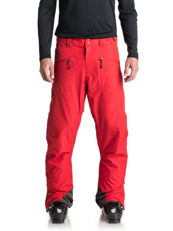 0 Boundry - Pantalon de snow pour Homme Rouge EQYTP03086 Quiksilver