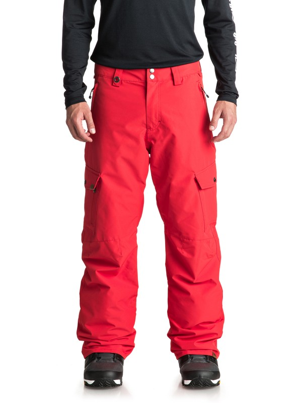 0 Porter Snow Pants Red EQYTP03087 Quiksilver