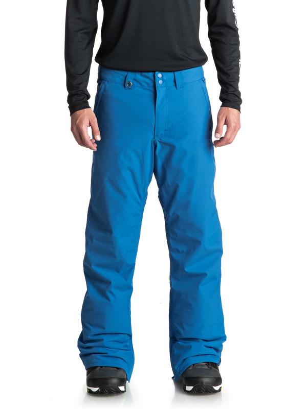 0 Сноубордические штаны Estate Синий EQYTP03088 Quiksilver