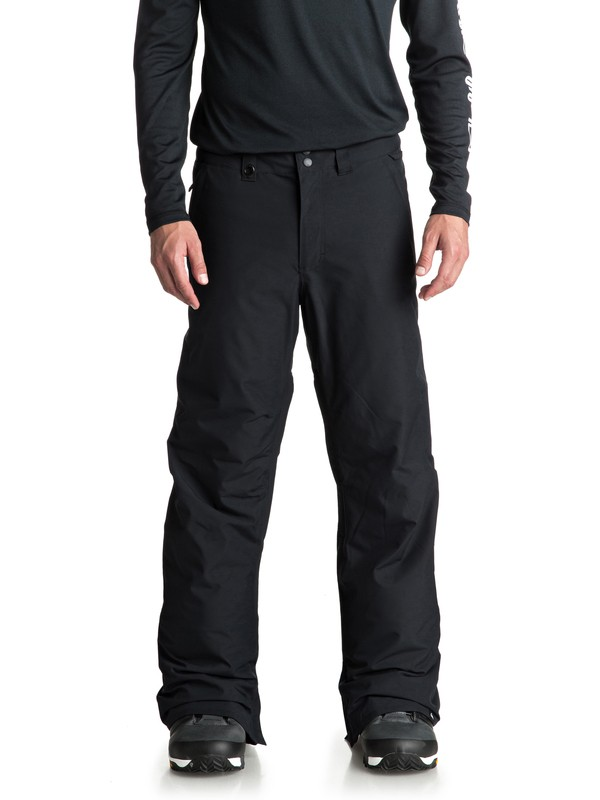 0 Estate Snow Pants Black EQYTP03088 Quiksilver