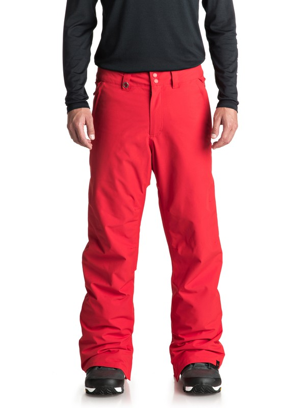 0 Estate - Snow Pants for Men Red EQYTP03088 Quiksilver