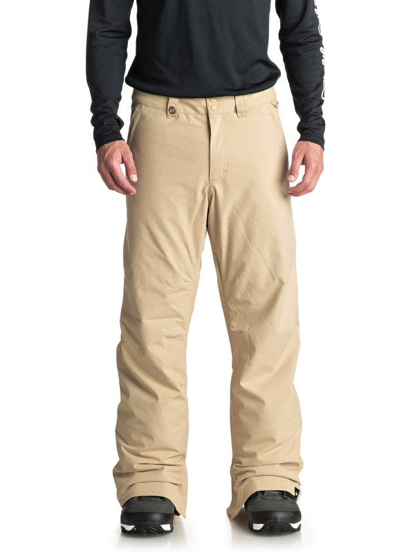 0 Estate Snow Pants Beige EQYTP03088 Quiksilver