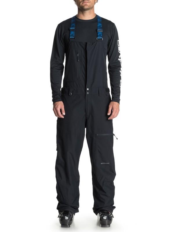 0 Сноубордические штаны Stratus Черный EQYTP03091 Quiksilver