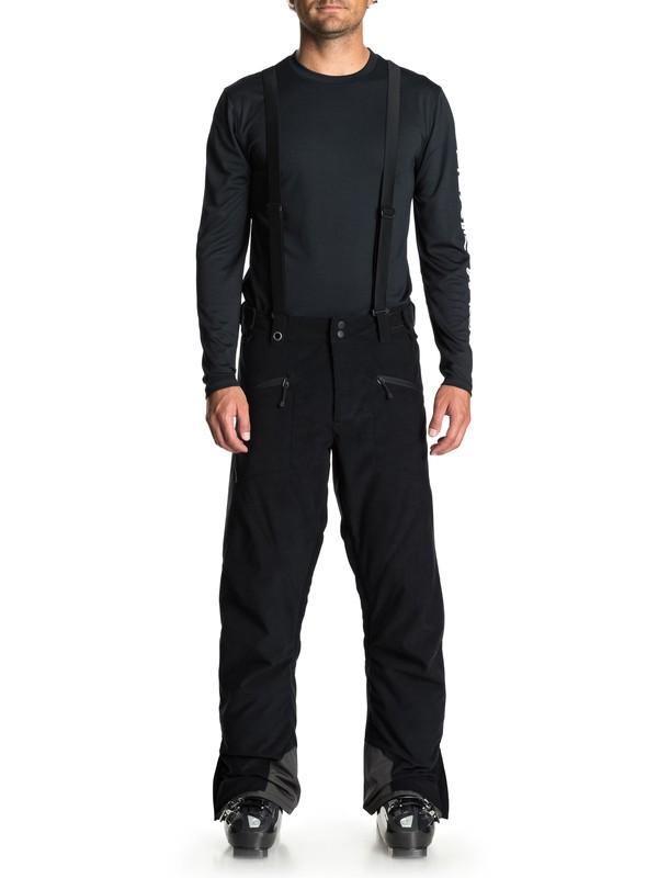 0 Сноубордические штаны Boundry Plus Черный EQYTP03096 Quiksilver