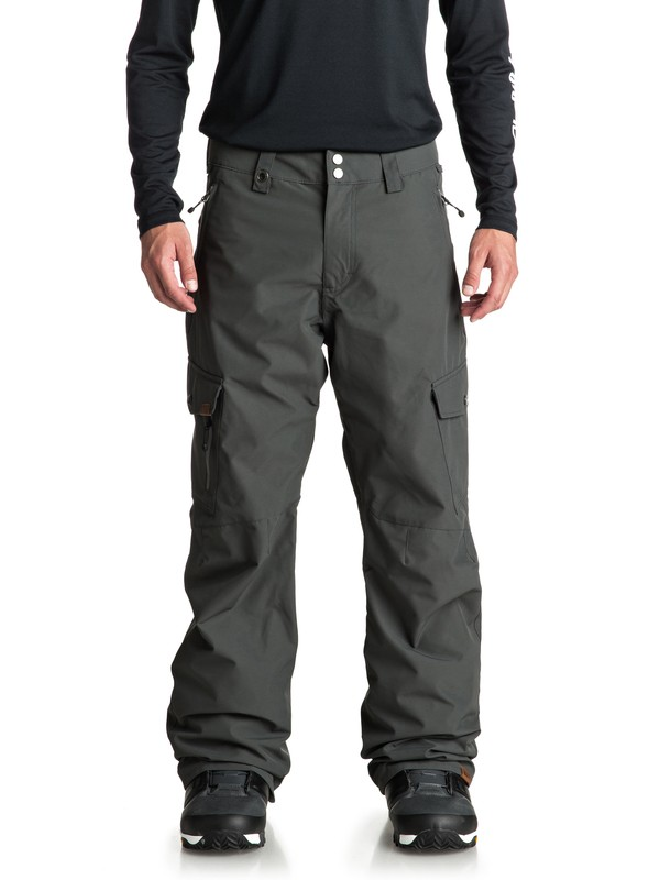 0 Porter Shell Snow Pants Black EQYTP03097 Quiksilver